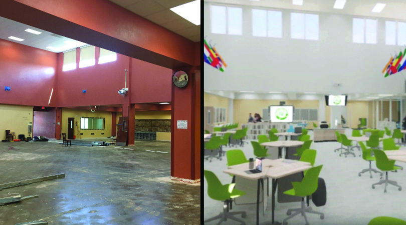 EXTREME LIBRARY MAKEOVER