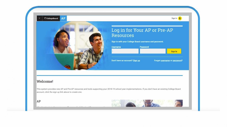 AP Classroom registration
