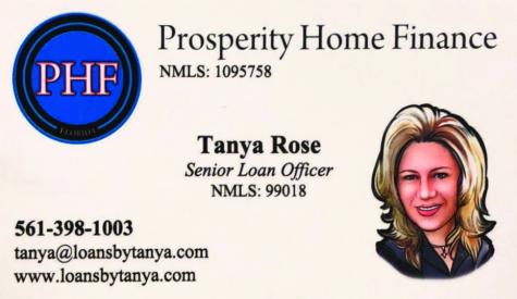 PROSPERITY HOME FINANCE