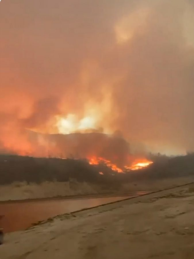 RAGING WILDFIRES IN THE WEST COAST BURN OVER 500,000 ACRES