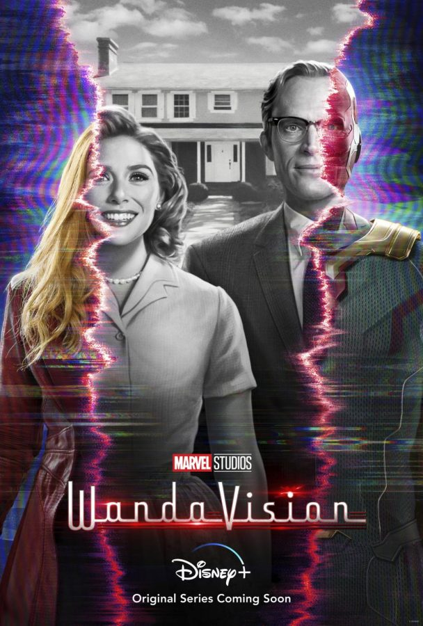 WandaVision (but the logo with the red zaps and stuff lookin all cool)