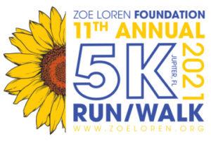 11th Annual 5K Run/Walk For Zoe Loren